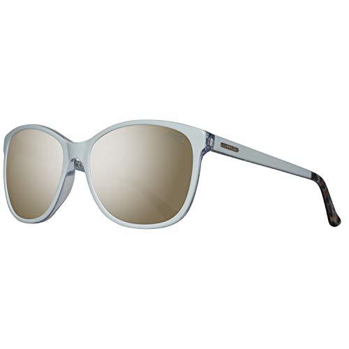 Guess Damen GU7426-5821C Sonnenbrille, Weiß (White), 58