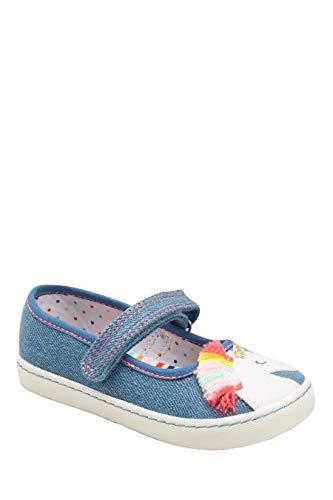 next Mädchen Mary Jane-Schuhe Denim Einhorn 29 EU (Mädchen Mary Janes Schuhe)