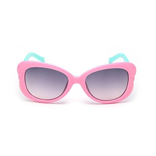 QHGstore Niños de los cabritos UV400 gafas de sol Niños Niñas Gafas Gafas Gafas de sol 5#