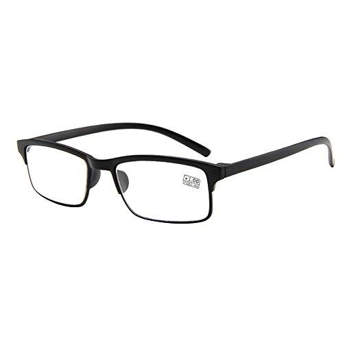 forepin reg; Lesebrille Brille Lesehilfe Sehhilfe Retro Art für Unisex Damen Herren Dioptrie + 1.0