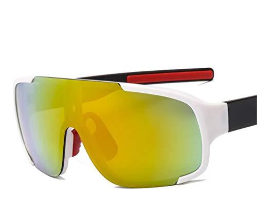 YINshop Sport-Sonnenbrille, UV400-Schutz, Leichter Rahmen für Männer, Frauen, Angeln, Fahren, Golf, Laufen, Radfahren, Camping F