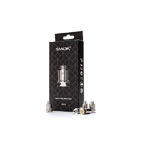 Smok Nord Replacement Coil 5Pcs - Mesh Coil 0 6Ohm for Batter Flavor for  Nord Kit