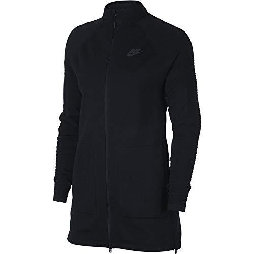 Nike Sportswear TECH Knit Black/Black 885677-010 Knit Warm Up Jacket