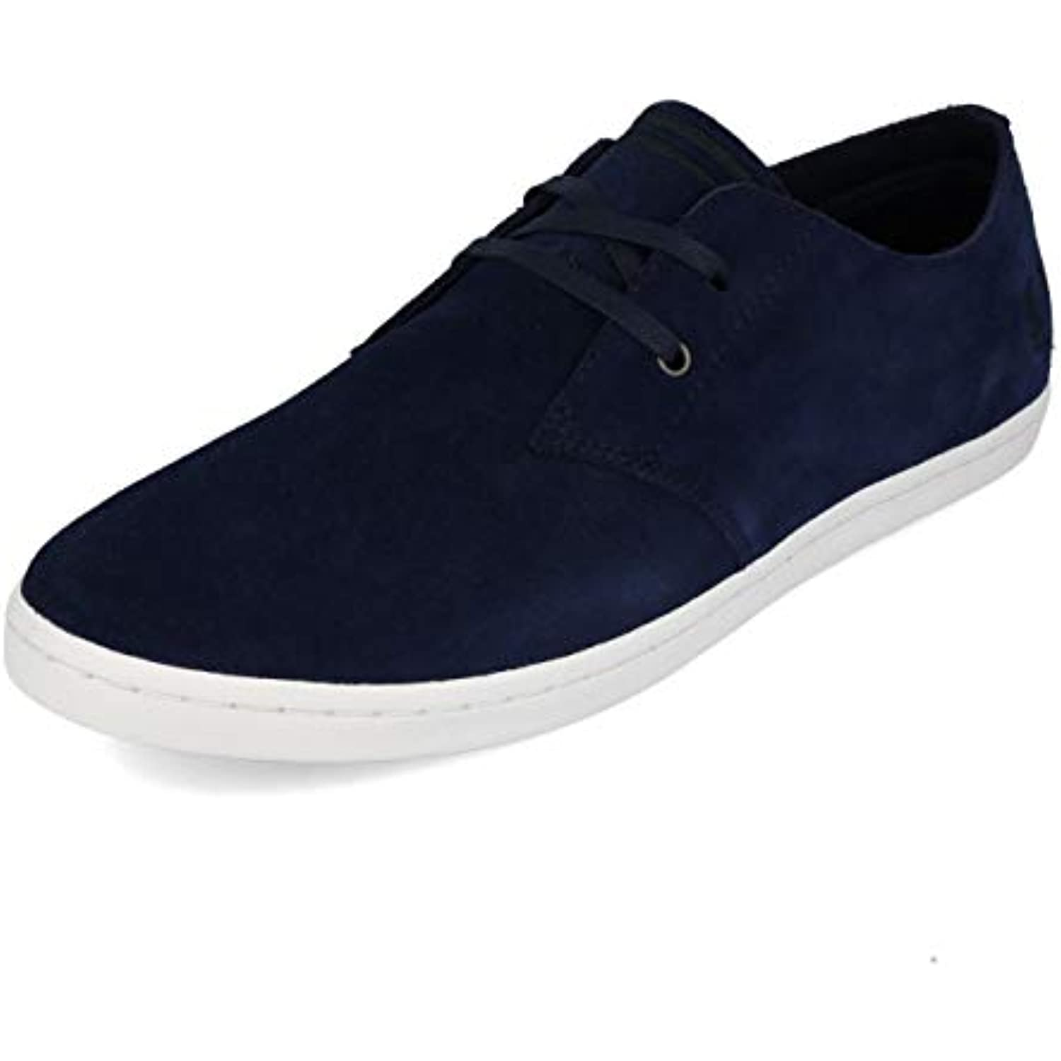 FRouge  Perry Perry Perry Byron Low Suede Carbon Blue 44 - B07H8H2XWG - 466f03