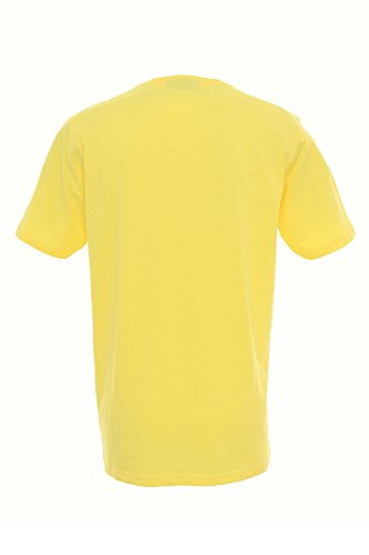 Kitaro Herren T-Shirt Gelb