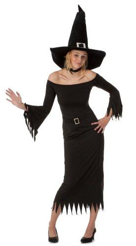 Gothic Hexe Kostüm Für Erwachsene - spass42 Damen Hexenkostüm Hexe Langarm Kleid