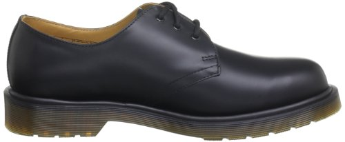 Dr Martens 1461 Pw - Smooth, Chaussures de ville mixte adulte Noir
