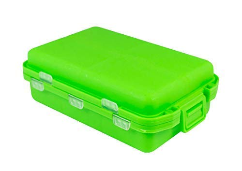 1 x Medikamentenbox Tablettenbox Pillenbox Tablettendose Pillendose verschiedene Farben (grün)