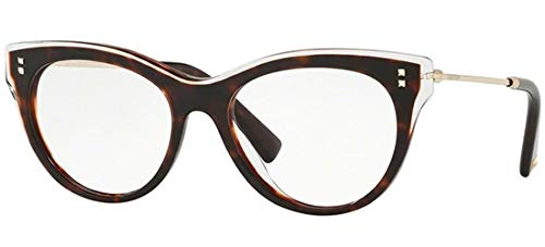 Valentino Brillen VA 3023 HAVANA CRYSTAL Damenbrillen
