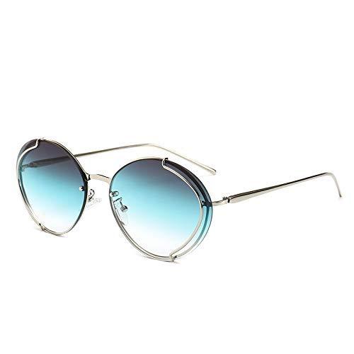 GFF Runde cat Eye Sonnenbrille männer Frauen metallrahmen Mode uv400 Vintage Brille 46052 -