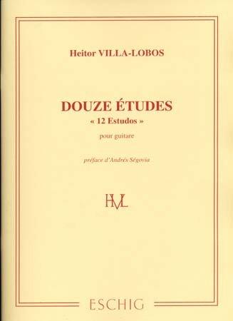ESTUDIOS (12) por Heitor Villa-Lobos