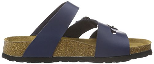 Betula Stripes Cross Buckle, Ciabatte Donna Blu (Blau (Bf Navy))