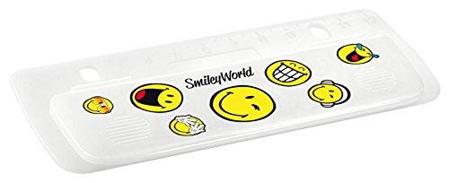Herlitz 11366051 Mini-Taschenlocher Smiley World zum Einheften und für unterwegs