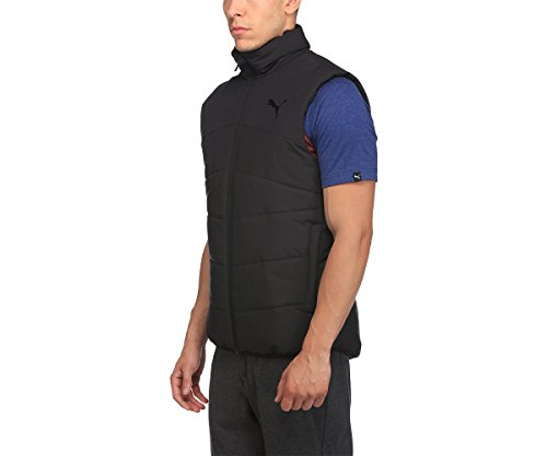Puma Men's Synthetic Track Jacket (85097101_Puma Black_Small)