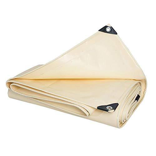 Dall bâche Bâche Imperméable De Plein Air Multifonction Poncho Camping Protection Solaire (Couleur : Beige, Taille : 4×5m)