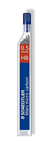 Staedtler 250 05-HB – Mina de repuesto (Gris, HB)