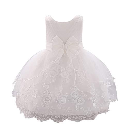 YFCH Abiti da Battesimo per Le Neonate Principessa Bambino Ragazza Abito da Sposa per Bambini Festa di Compleanno Abiti 0 2 Anni