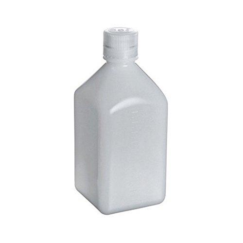 Nalgene Thermo Scientific 312018-1000 Bottle, Square, Polyethylen hohe Dichte, EU, 1000 mL (50-er Pack)