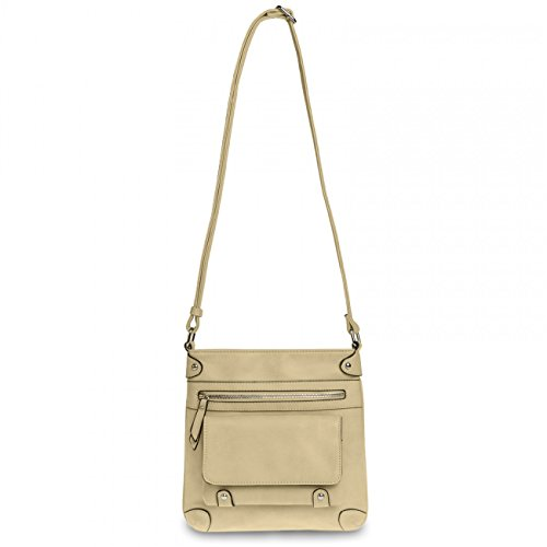 Caspar Ts922 Ladies Cape Bag Beige