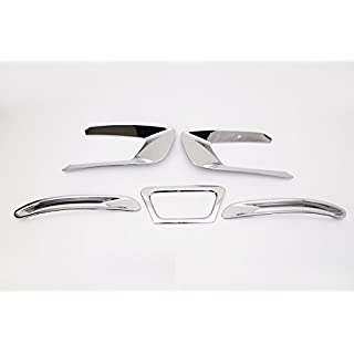 Autoclover Verchromte Umrandung für Nebelscheinwerfer & - schlussleuchten