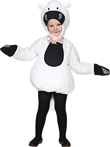 Smiffy's - Schafskostüm Kinder Schaf Lamm Kostüm 4-6 Jahre Gr S