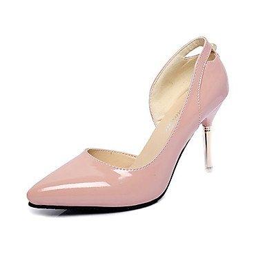 Moda Donna Sandali Sexy donna tacchi Primavera / Estate / Autunno tacchi / Punta ufficio in pelle & Carriera / Casual Stiletto Heel Altri gray