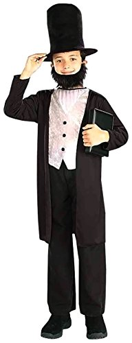 Child Lincoln Kostüm - Abe Lincoln Costume Child Large