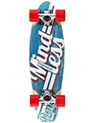 Mindless Daily 24/7Mountain–Longboard, color azul y blanco