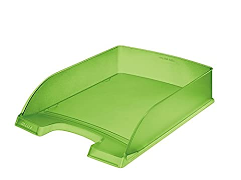 5 x Leitz Briefablage A4 Standard Plus grün frost