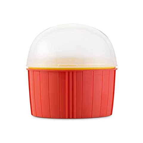 Zap Chef Poppin Corn Mikrowelle Popcorn Maker–Rot
