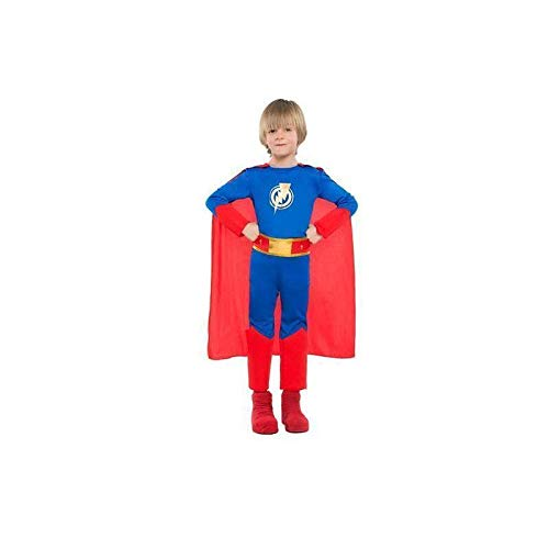 Zzcostumes SUPERHEROE Kostüm GRÖßE 5-6 Jahre GRÖßE - Superheroe Kostüm