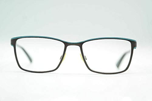 Eschenbach Humphreys 582187 52[]17 135 Braun Blau oval Brille Brillengestell