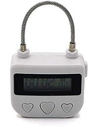 Cronómetro electrónico con Temporizador, Bloqueo de Tiempo multifunción, Bloqueo de Viaje, Interruptor de Tiempo Digital