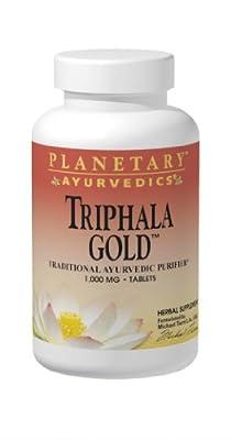 Planetary Herbals Triphala Gold, 120 Tabs, 1000 Mg from Planetary Formulas