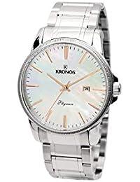 Kronos - Elegance Ladies Bicolor 964.8.43 - Reloj de señora de Cuarzo, Brazalete