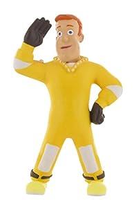 Figura Sam el bombero Rescate de Comansi-Bullyland fabricada en pvc NO articulada de 7 cm de altura, sin acfalatos, pintadas a mano con pinturas y colorantes sin productos químicos nocivos para los niños. Las figuras están aprobadas por el licenciata...