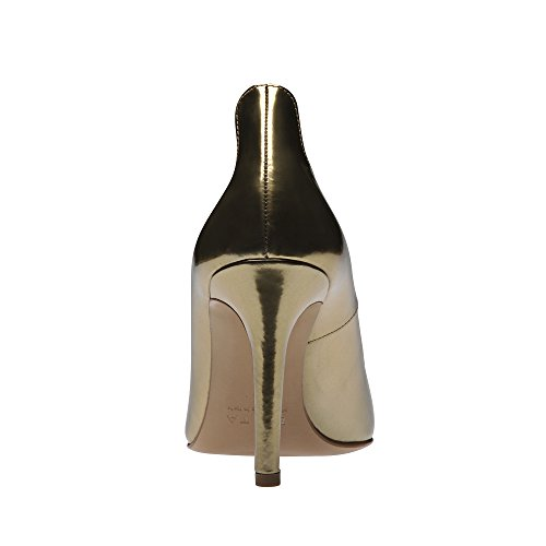 gold Shoes pelle Gold Evita Donna tacco pennello BTROxPwq