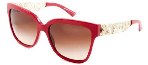 dolce-gabbana-4212-filigrana-matte-bordeaux-frame-brown-gradient-lens-plastic-sunglasses
