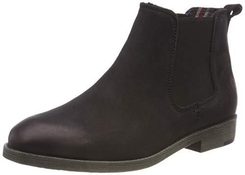 Tamaris Damen 25071-21 Chelsea Boots, Schwarz (Black 1), 38 EU