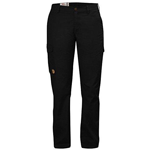 Fjällräven Damen Övik Curved Trousers W Lange Hose Black