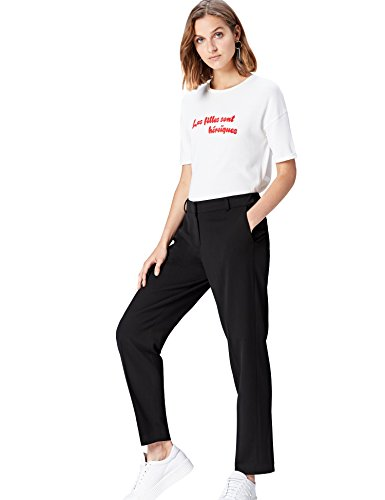 Marchio Amazon find. Pantaloni Sartoriali Affusolati Donna