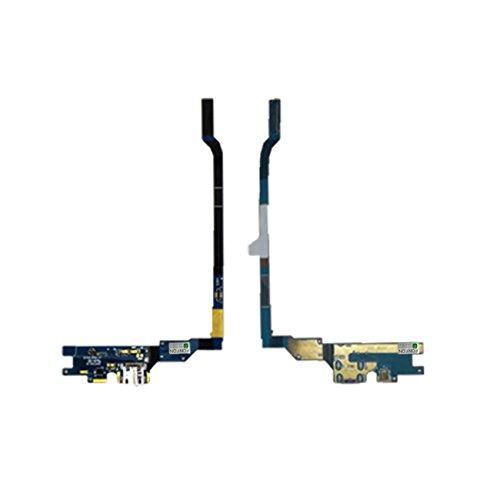 FONFON Dock Connector Ladebuchse USB Charger Buchse Charging Mikrofon Flex Kabel für Samsung Galaxy S4 i9505