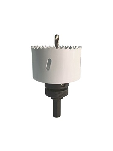 HSS Bi-Metall Lochsäge Durchmesser 79 mm Bohrkronen Dosenbohrer Trockenbau, mit Aufnahme