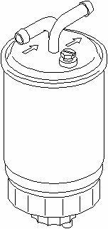 Topran Filtre à carburant, 102 731