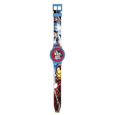 Marvel MV15185 - Reloj Reloj de Pulsera, Child, Multi, Multi, Alrededor, Negro