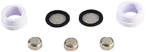 infactory Wasserhahnaufsatz: Wasserhahn-Aufsatz mit LED-Beleuchtung heiß/kalt (Leuchtender Wasserhahn) -