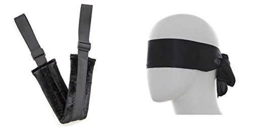 Lieberpaar Corde de Bondage Lovers Menotte Sex Toys et Eye Mask Cover
