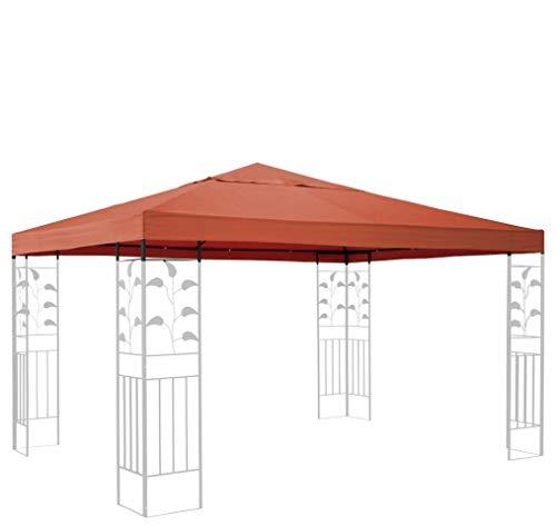 QUICK STAR Ersatzdach für Blätter Pavillon 3x3m Pavillondach Terra Ersatzbezug