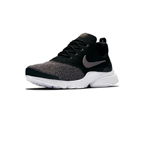 NIKE Air Presto Fly Women Sneaker Trainer (39 EU, Black/White)