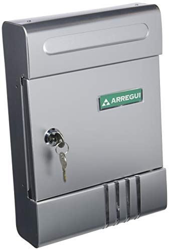 Arregui 1001aa-boite Briefkasten Aluminium silber eloxiert